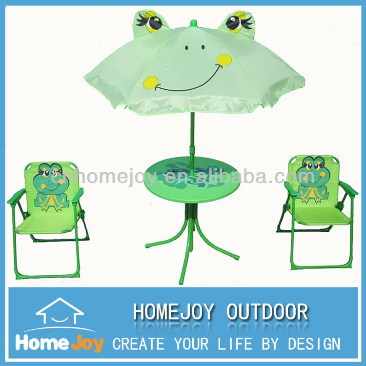 High quality childrens patio set, plastic picnic set, green bedroom furniture for kids
