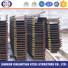 ASTM standard ISO9001 custom structral pipes galvanized steel sheet pile