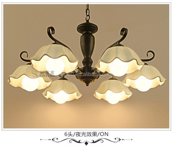 Hot selling white led ceraimc chandelier pendant lighting made in China