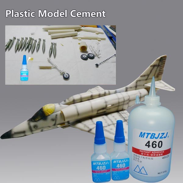 Instant Bond Glue for Plastic Model Assembling