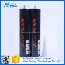 Will choose performance polyurethane sealant for car glass not silicone sealant