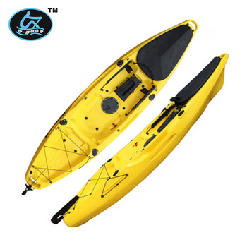No inflatable fishing pedal kayak boat