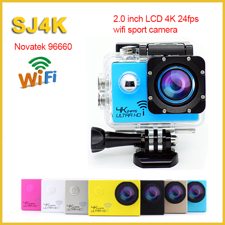 2016 waterproof novatek 96660 chip mini action sport camera wifi 2K 4K cam be unique xiaomi yi 1080p sports