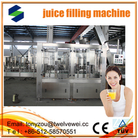 Perfect sale in China of industrial juice machine/new design of fruit juice processing line automatic 3 in1 juce filling machine