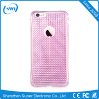 2016 Trending Products Vouni Glitter Anti Shock TPU Mobile Phone Case for iPhone 6/6s Back Cover
