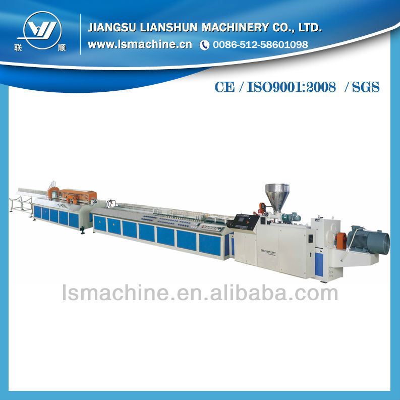 WPC deck making machine