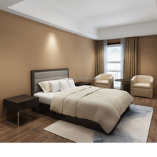 Foshan factory Customized hotel bedroom furniture and serviced apartment furniture