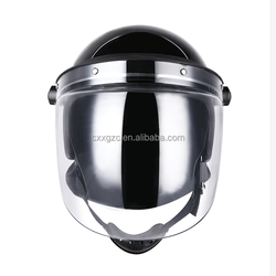 Security Protection Full Face PC Visor Police Anti Riot Helmet Anti-riot Helmets