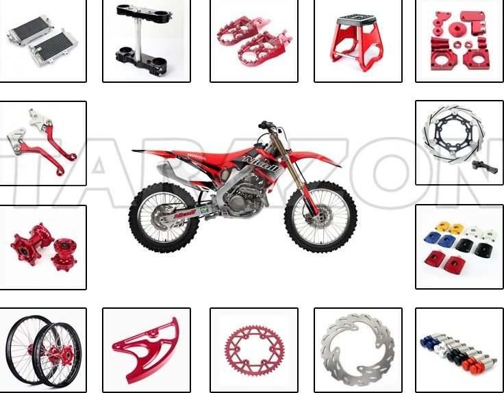Wholesale CNC motorcycle parts for dirt bike KTM honda kawasaki