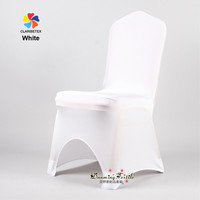 Textile Factory Hot Sale Spandex Chair Cover for Wedding Decor.