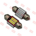 Light Canbus 12V 10smd 4014 Car C5W LED Festoon Light 31mm car Interior Lights