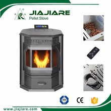 cast iron wood stove parts, wood pellet pellet stove from china with Remote Control