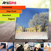 Artigifts company Professional direct sell dual sided optical cleaning cloth