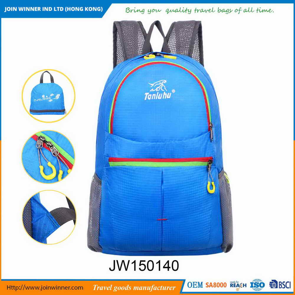 OEM Production Small Photo Backpack With High Quality