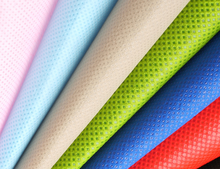 all colors polypropylene trampoline fabric,10~200gsm 100% PP Spunbonded Nonwoven fabric in rolls,