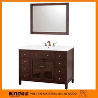 Round Cabinet Small Bathroom Corner Vanity Furniture free standing home cabinet