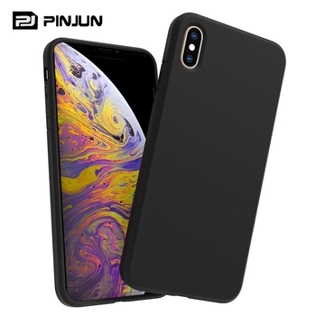 Cell phone case soft 1.5 mm shock proof tpu bumper matte silicon tpu mobile covers for iphone xr black case