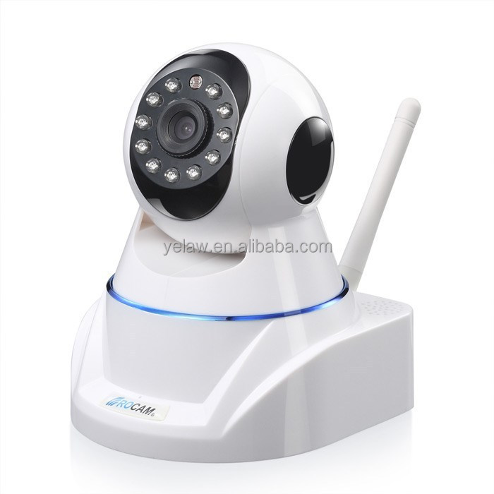 8m Night Vision SD Card Audio Alarm Pan Tilt 720P Wireless IP Camera