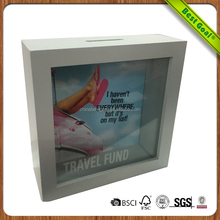 Newest top sale Double side wooden photo frame