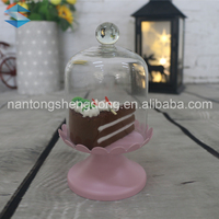 wedding decoration shot glass cake dome gift set packing