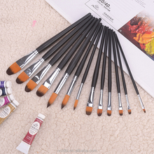 Commercio all'ingrosso Donnola red <span class=keywords><strong>Sable</strong></span> Pennello Acquerello Pennello Acrilico, pennello produttori Cina, <span class=keywords><strong>artista</strong></span> pittura brush set