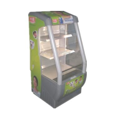 200L Supermarket Beverage Show Open Air Cooler