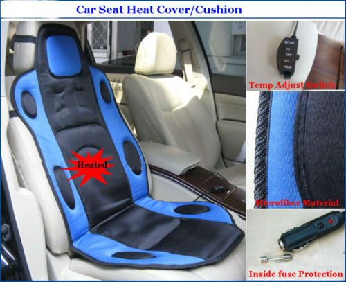 Winter Car Heated Seat Cushion Hot Cover Auto Heat Heating Warmer Cushion