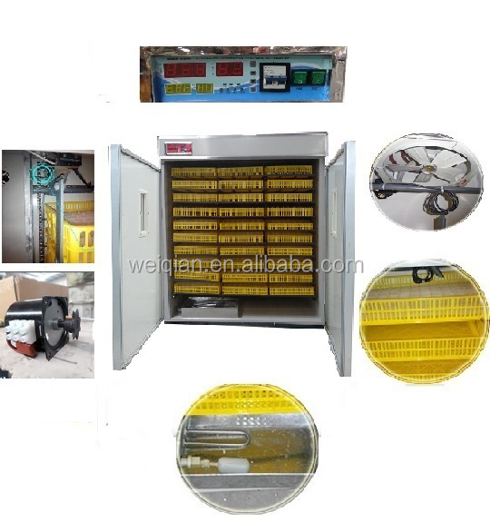 best selling high quality 5000 eggs family use egg incubator
