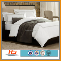 embroidered hotel duvet/quilt cover set
