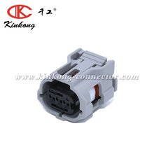Kinkong 3 Hole Receptacle Wire Connectors For Toyota 6189-1130 90980-12353 3P025WP-TS-GR-F-tr