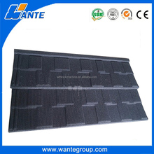 Hot-selling stone chips coated steel tile /building material /metal roofing price