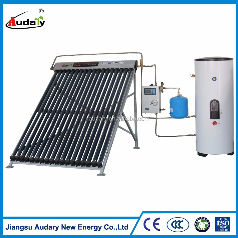 2016 China best-selling split pressurized heater solar water(SRCC, SOLAR KEY MARK,ISO,CE )