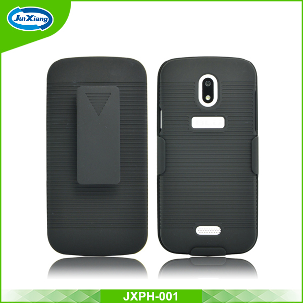 Latest design holster protector kickstand case for blu neo 4.5/s330l