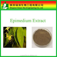 Factory Supply Organic Epimedium Leaf Extract Icariin 50% 60% 80% 98%