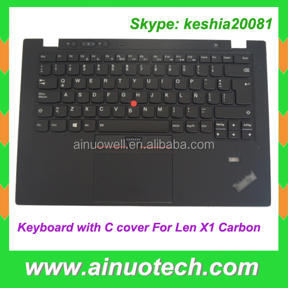 original laptop keyboard with palm rest C cover and touchpad for Lenovo X1 Carbon with C case laptop Internal Keyboard