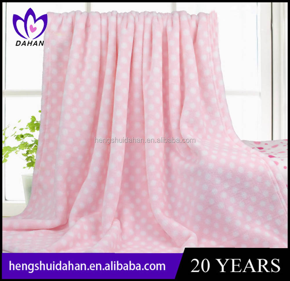 home textiles blanket 100% polyester coral fleece flannel blanket