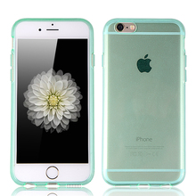 cell phone cover wholesale transparent back clear cover soft tpu mobile phone case for iPhone 6