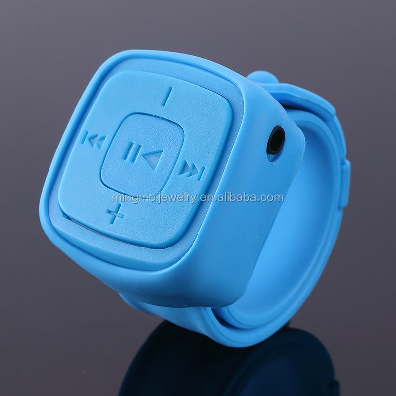 New Year Promotion Gift mp3 player Sport mini watch mp3 player