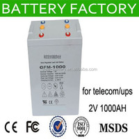 free maintenance 2v 1000ah 2v 900ah battery agm deep cycle battery 2v1000ah
