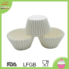 Round White Cupcake Paper/Baking Cup/Cup Liners