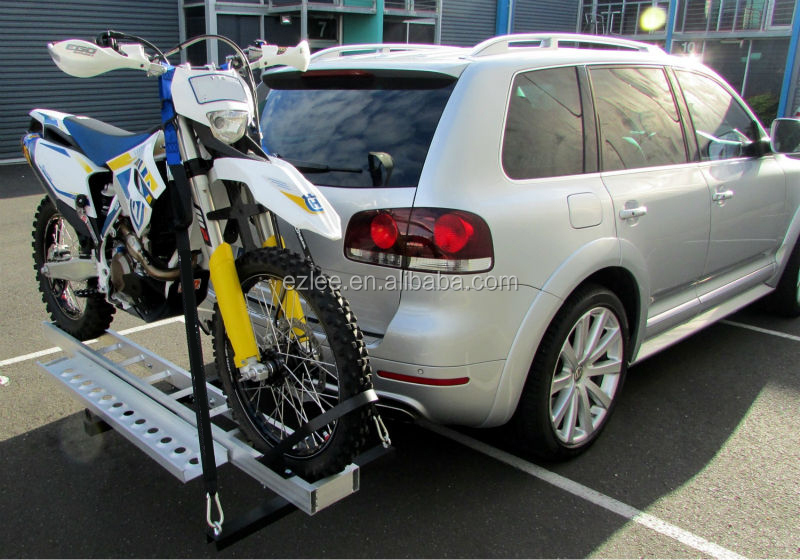 car SUV rear hitch rack carrier for motorcycle scooter ATV Aluminum high quality