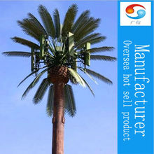Environmental friendly Plastic Palm Fern Tree Steel Communication Tower Manufacturing Company