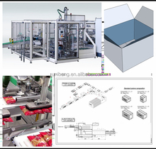 Salt bags case packer, case packaging machine for nuts