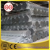 wholesale large diameter galvanized steel water pipe price