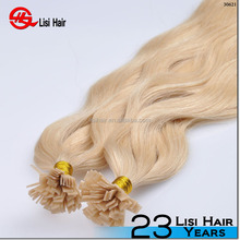 prebonded hair double drawn remy human hair U tip/Flat tip/I tip hair extensions Wholesale Keratin Flat