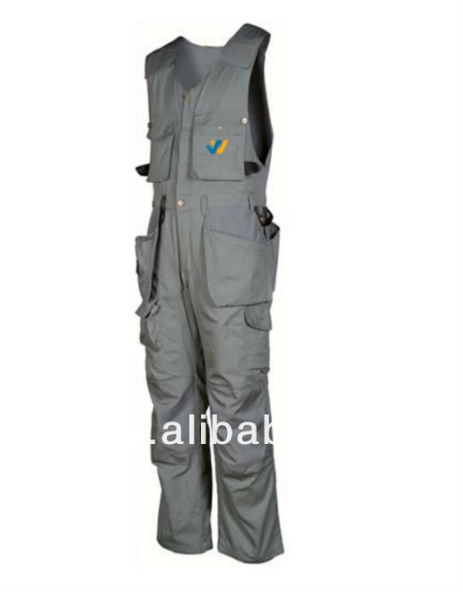 Work wear Dungarees Custom Made Bespoke Design Embroidery Printing Company Name Worker Name Apparels