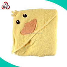 hot sale baby bath towel baby animal big hooded towel