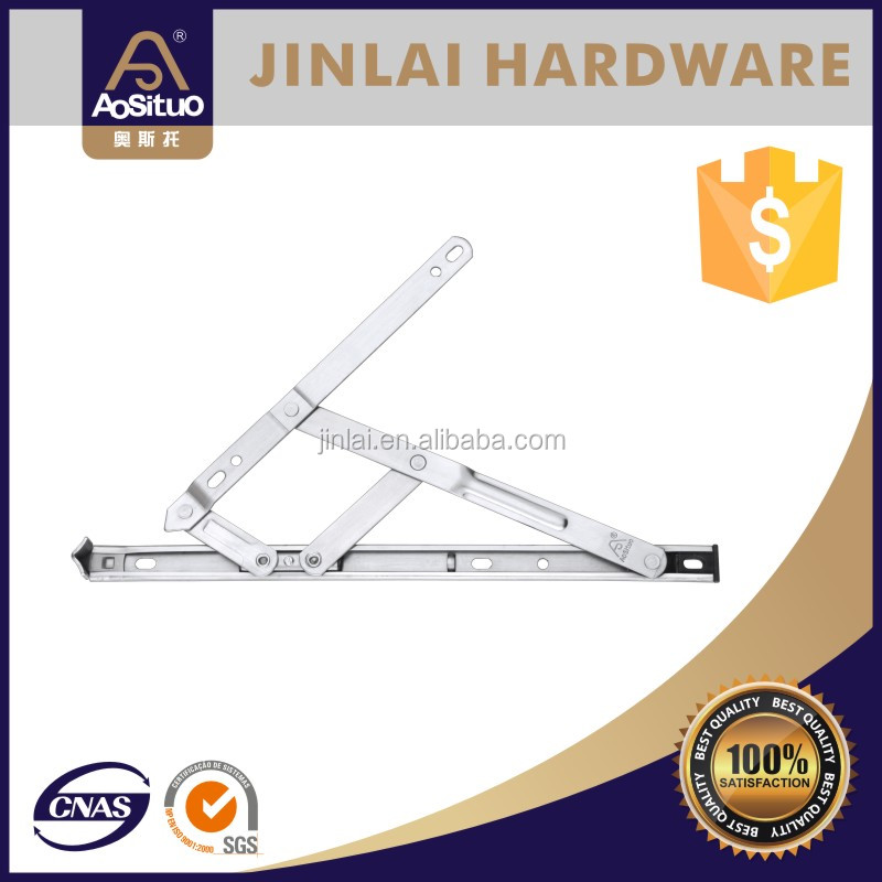 SS304 square slot hinge window friction stay