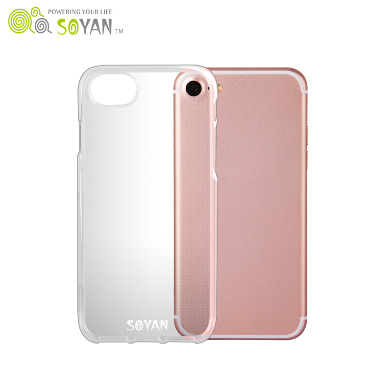 High Quality and Best Price Hot Sale Soft Rubber air TPU Phone Case Double Camera Hole for iphone 7 case