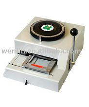 Wenlin-3000 emboss and indent machine PVC smart card indenter